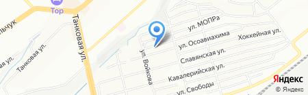 Слинги-коляски на карте Новосибирска
