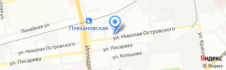 Авто Бренд на карте Новосибирска