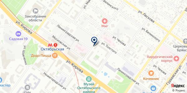 Винтаж на карте Новосибирске