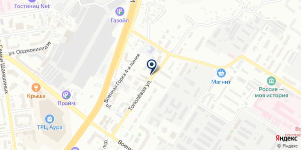 ЛеРи на карте Новосибирске