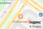 Схема проезда до компании Кёнэ в Новосибирске