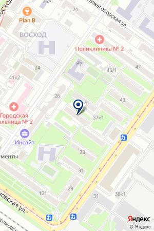 КУРЬЕРСКАЯ СЛУЖБА СПСР-ЭКСПРЕСС на карте Новосибирска