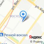 ТВОРЧЕСТВО на карте Новосибирска