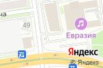 Схема проезда до компании Всё в дом в Новосибирске