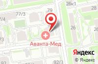 Схема проезда до компании Успех в Новосибирске