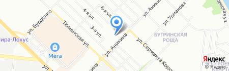 Терма на карте Новосибирска