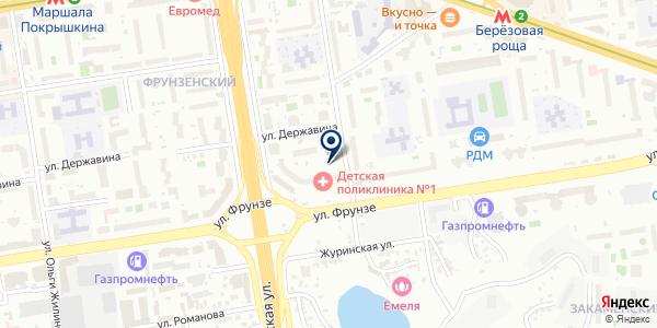 КМС-Уют на карте Новосибирске