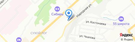 Детский сад №499 Гнёздышко на карте Новосибирска