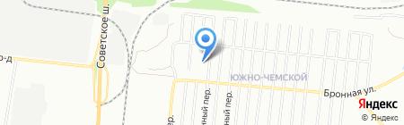 Средняя общеобразовательная школа №135 с дошкольным отделением на карте Новосибирска