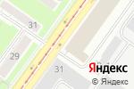 Схема проезда до компании Рим в Новосибирске