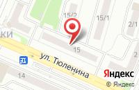 Схема проезда до компании Родники в Новосибирске