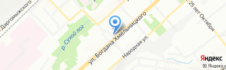 Квартира на карте Новосибирска