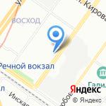 АВТОДЕТИ.СОМ на карте Новосибирска