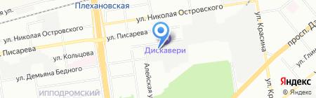 Сибирский трансформатор на карте Новосибирска