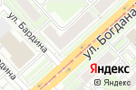 Схема проезда до компании Бижуви в Новосибирске
