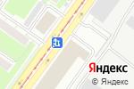 Схема проезда до компании Авангард Лайн в Новосибирске