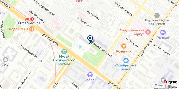 ПОРТАЛ на карте Новосибирске