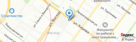 ЗИАС на карте Новосибирска