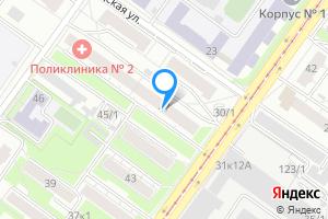 Сдается двухкомнатная квартира в Новосибирске м. Речной вокзал, Гурьевская улица, 47