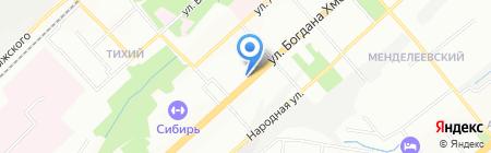 Школа журналистики на карте Новосибирска