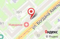 Схема проезда до компании Флора Дизайн в Астрахани