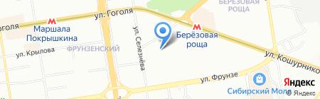 Детский сад №468 на карте Новосибирска