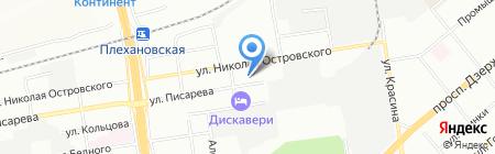Метро на карте Новосибирска