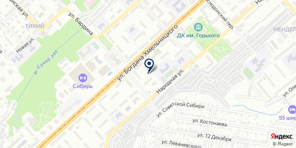 Участок №2 на карте Новосибирске