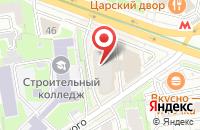 Схема проезда до компании ИнвестСтрой в Новосибирске