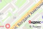 Схема проезда до компании ИНВИТРО в Новосибирске