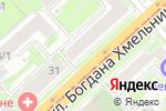 Схема проезда до компании Жасмин в Новосибирске