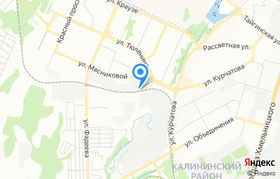 Местоположение на карте пункта техосмотра по адресу г Новосибирск, ул Игарская, д 180