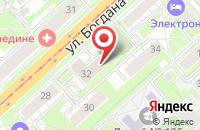 Схема проезда до компании АПС в Астрахани
