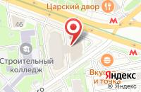 Схема проезда до компании Денталкад в Новосибирске