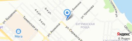 D-tora на карте Новосибирска