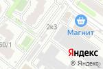 Схема проезда до компании Сибгеофизпроект в Новосибирске