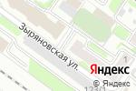 Схема проезда до компании Сибирский печатник в Новосибирске