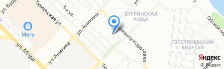 Промышленные насосы на карте Новосибирска