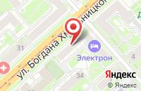 Схема проезда до компании Каравелла в Новосибирске