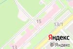 Схема проезда до компании Городская клиническая больница №25 в Новосибирске
