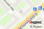 Схема проезда до компании Алекс Вилл в Новосибирске