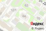 Схема проезда до компании Визард Телеком в Новосибирске