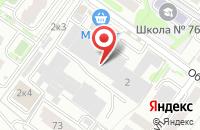 Схема проезда до компании Информационный Региональный Сервис в Новосибирске