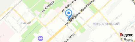 Школа-семинар парикмахерского мастерства Чиркуновой и Крюковой на карте Новосибирска