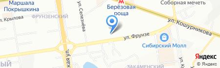 Азбука крепежа на карте Новосибирска
