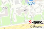 Схема проезда до компании Синеглазка в Новосибирске