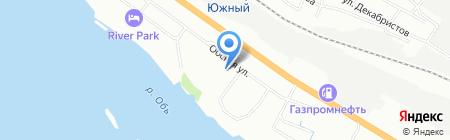 Р-Транс Новосибирск на карте Новосибирска
