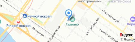 СтройПарк на карте Новосибирска