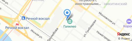 Дарусс на карте Новосибирска