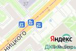 Схема проезда до компании Flo fresh flowers в Новосибирске